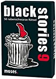 moses. black stories 9 | 50 rabenschwarze Rätsel | Das Krimi Kartenspiel