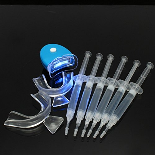 Ungfu Mall 1 set Dental Oral Care Teeth Whitening Bleaching Kit Zahn Weißkocher Gel Werkzeug