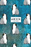Penguin Design List Book: 120 pages of ruled white paper with check boxes for writing up lists -