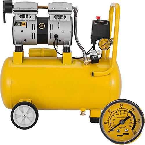 Mophorn Compresor Aire Compresor sin Aceite Lubricación
