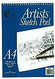 Blocco per schizzi da artista, formato A4, 100fogli, carta di qualità 80g/m²