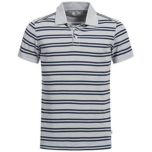 Timberland clothing – maglietta polo per uomo ss yd kennebec rvr b, nero iris, 8239j-052, xl