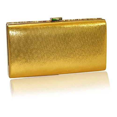 Handbag Krazy, Poschette giorno donna Bumblebee Gold