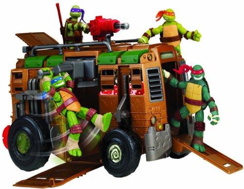 Teenage Mutant Ninja Turtles Shellraiser-Fahrzeug/Angriffsfahrzeug (Turtles nicht im Lieferumfang enthalten) (Shell Lkw)