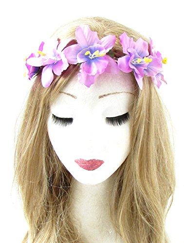 Morado-orqudea-flor-diadema-pelo-corona-festival-guirnalda-hawaiana-elstica-765-Exclusivamente-Se-Vende-por-STARCROSSED-Beauty