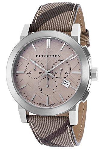 BURBERRY BU9361 - Orologio da polso da uomo colore beige