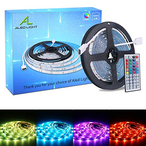 ALED LIGHT Tiras LED 5050 RGB 5m Longitud