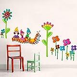 Caterpillar Cartoon Wandaufkleber können entfernt werden, um Wohnzimmer, TV Sofa Hintergrund Wand selbstklebende Aufkleber, 50 * 70 Cm