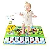 lesgos Tapis de Piano Musical, Jouet de Tapis de Musique de Danse électronique pour Enfants, éducatif Couverture Musicale...