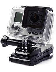 XCSOURCE® 360 Grad Dreh Rucksack Hut Rec Halterungen Clip Klemmhalterung für GoPro Hero 2 3 3 + 4 SJ4000 SJ5000 OS102