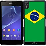 Funda de silicona para Sony Xperia Z2 - Bandera De Brasil by BruceStanfieldArtist