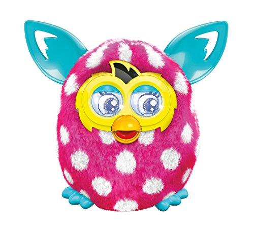Preisvergleich Produktbild Hasbro A6411100 Furby Boom Sunny Polka Dots, deutsche Version