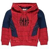 Character Kinder Jungen Zip Hoodie Kapuzenjacke Sweatjacke Kapuzenpullover Spiderman 3-4 Yrs