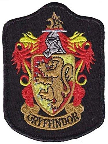 2Gryffindor Wappen gesticktes Logo Patch sew-on-Bügel-7,5x 9,8cm