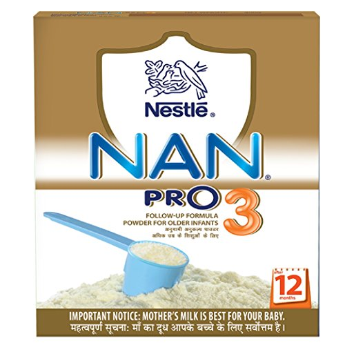 Nestle Nan Pro 3 Follow-Up Infant Formula Powder, After 12 months, 400g