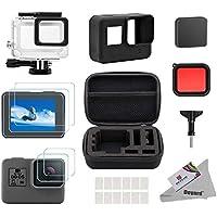 Deyard 25 in 1 Kit accessori per GoPro Hero(2018) GoPro Hero 6 Hero 5 con antiurto Small Case Bundle per GoPro Hero(2018) GoPro Hero 6 Hero 5 Action Camera