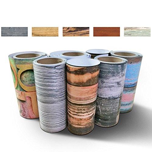erthome 20x50 cm Klebstoff Fliese Kunstboden Wandtattoo Aufkleber DIY Küche Badezimmer Dekor