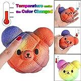TAOtTAO Squishy Toy Temperatur Farbwechsel langsam Steigende duftenden Kawaii Squeeze Toy Reliever Stress