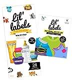 Kita Value Pack-Schreiben auf Namen Etiketten, wasserdicht Animal/Highlighter