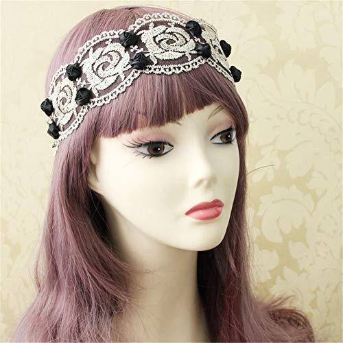 LISA Stirnband, Blume Kopfschmuck Für Prinzessin Kinder Erwachsene Dance Holiday (Dance Team Kostüm Kinder)