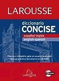 Diccionario Concise español-ingles/inglés-español (Larousse - Lengua Inglesa - Diccionarios Generales)