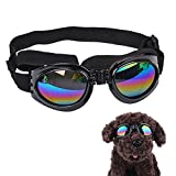 Hund Sonnenbrille, PET Hund Eye Schutz UV-Schutzbrille Faltbare Pet Eyewear für Fahren Radfahren