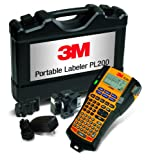 3M PL200KW  Tragbarer Etikettendrucker im Hartschalenkoffer