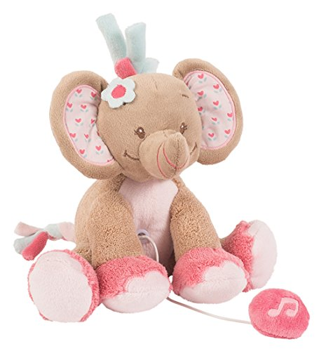 Nattou Charlotte & Rose Mini-musical 655064, Rose l'éléphant