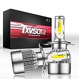 Noodei Ampoules 32W 3600LM 6000K blanches très lumineuses 324 de kit de conversion de phare haut/bas de faisceau de LED blanc / 9003
