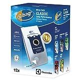 Electrolux E201M Mega Pack 12 Bolsas Color Blanco