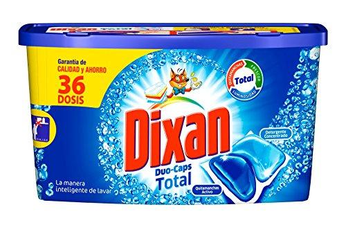 Dixan Detergente en Cápsulas - 36 Lavados