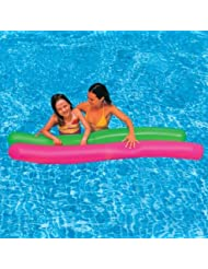 Aqua Water Swimming Pool Fun Playing Floats & Inflatable Twisty Tube - by Only Swim