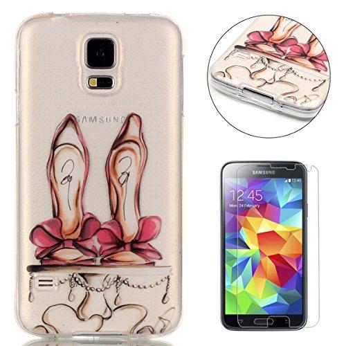 CaseHome Samsung Galaxy S5 gel di silicone Custodia (con Gratuito