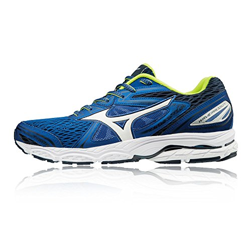 Mizuno Wave Prodigy, Chaussures de Running Homme Multicolore (Classicbluewhitedressblues)