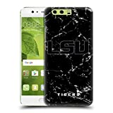 Offizielle Louisiana State University LSU Schwarz Und Weiß Marmor Ruckseite Hülle für Huawei P10 Plus