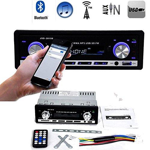 Alcoa Prime 12V Bluetooth Car Radio Stereo Audio MP3 Player In-Dash FM Receiver Aux Receiver