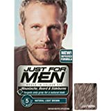 Just For Men Colour Gel For Beards, Moustaches And Sideburns Light Brown
