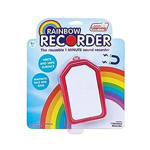 Junior Learning JL148 - Grabadora de Arco Iris para niños, Multicolor
