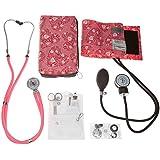 NCD Medical/Prestige Medical A5-HPH - Juego de tensiómetro de brazo y estetoscopio tipo Sprague-Rappaport