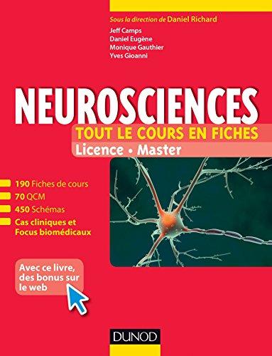 Neurosciences - Tout le cours en fiches : 190 fiches de cours, cas cliniques, QCM corrigs et bonus web