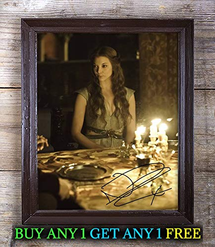 Margaery Tyrell Fictional Character Autographed Signed 8x10 Photo Reprint #75 Special Unique Gifts Ideas for Him Her Best Friends Birthday Christmas Xmas Valentines Anniversary Fathers Mothers ()