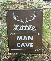 Enid18Bru Woodland Nursery Decor Arrow DEER Tribal Nursery Little Man Cave Wooden Wall Art Baby Boy Wall Sign HUNTING Nursery Rustic Sign by Enid18Bru