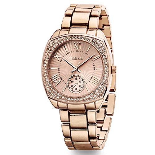 Noelani Damen-Armbanduhr Swarovski Kristalle Analog Quarz 2015555