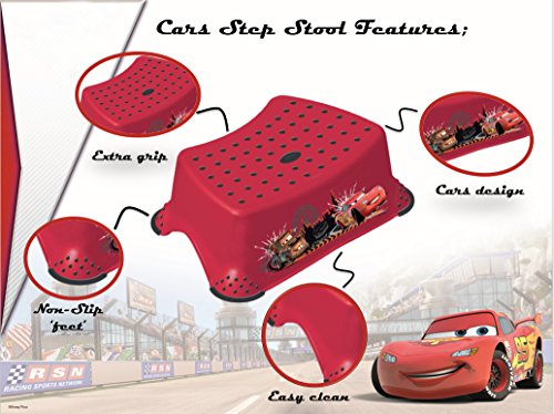 Image of Disney Baby Cars Step Stool with Non Slip Feet