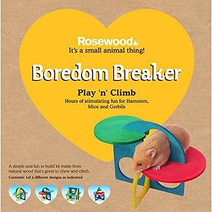 Rosewood Boredom Breaker Small Animal Activity Toy Play-n-Climb Kit 2