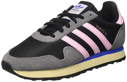 online retailer eb6ac 3f003 adidas Womens Haven W Low-Top Sneakers, Multicolor (Core BlackWonder Pink