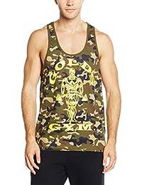 Gold's Gym Herren Unterhemd Muscle Joe Premium Camo Stringer Vest
