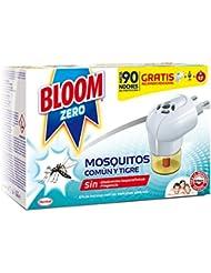 Bloom Zero Eléctrico Líquido Contra Mosquitos Común y Tigre Aparato ...