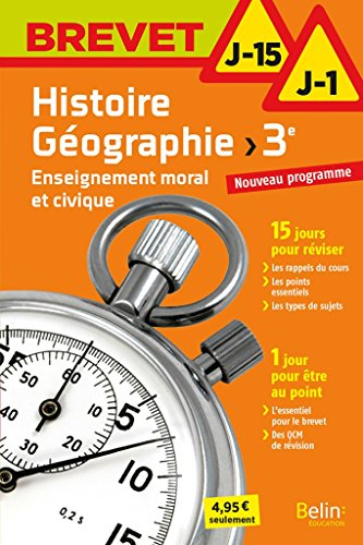Histoire-Géographie EMC 3éme J-15/J-1