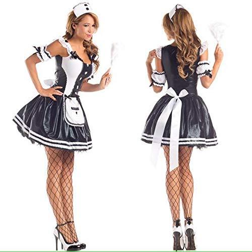 WEII Erotische Kleidung Europäischen und Amerikanischen Spiel Uniformen Cosplay Maid Kostüm Hot Sexy Dessous,Bild,Einheitsgröße
